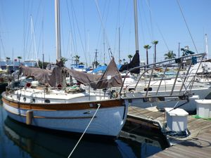 Used Hans Christian 34 Cutter Cruiser Sailboat For Sale