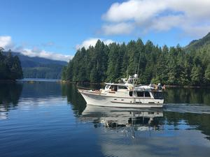 Used Defever 49 Pilothouse Trawler Boat For Sale