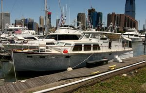 Used Huckins Linwood 53 Motor Yacht For Sale