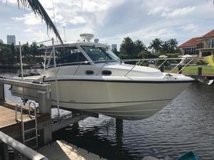 Used Boston Whaler 315 Conquest Cuddy Cabin Boat For Sale