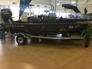 New Crestliner 1660 RETRIEVER FWD CONSOLE1660 RETRIEVER FWD CONSOLE Jon Boat For Sale
