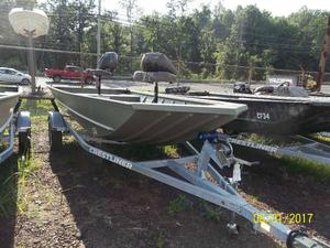 New Crestliner Retriever 1650Retriever 1650 Jon Boat For Sale