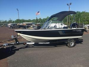New Crestliner 1650 Fish Hawk Walk-Through1650 Fish Hawk Walk-Through Aluminum Fishing Boat For Sale