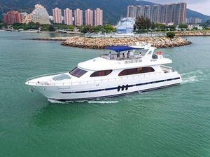 Used Accelera 8282 Flybridge Boat For Sale