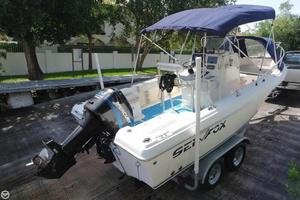 Used Sea Fox Commander 217 Center Console Center Console Fishing Boat For Sale
