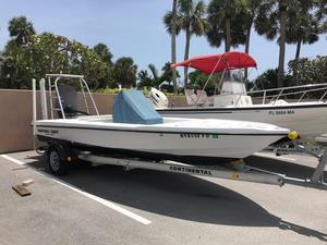 Used Ocean Master Hauptner Craft Saltwater Fishing Boat For Sale