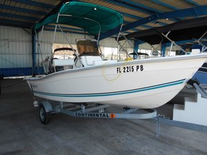 Used Key Largo 160CC160CC Center Console Fishing Boat For Sale