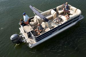 New Sylvan Mirage Fish 8522 Party FishMirage Fish 8522 Party Fish Pontoon Boat For Sale