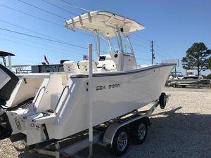 New Sea Born SX239SX239 Center Console Fishing Boat For Sale