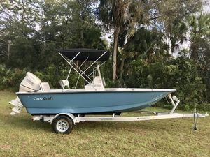 New Cape Craft 190 Bay190 Bay Center Console Fishing Boat For Sale