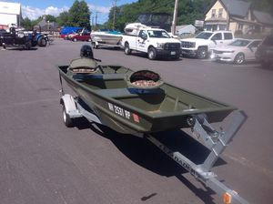 Used Alumacraft 1236 Jon1236 Jon Freshwater Fishing Boat For Sale
