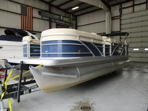 Used Aqua Patio 220 BC3220 BC3 Pontoon Boat For Sale