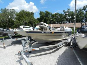 Used Polar Kraft 165 SC165 SC Aluminum Fishing Boat For Sale