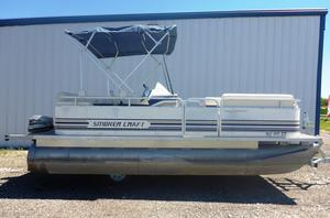 Used Smoker Craft 200L200L Pontoon Boat For Sale
