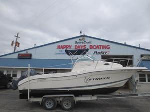 Used Striper 23 WA23 WA Freshwater Fishing Boat For Sale