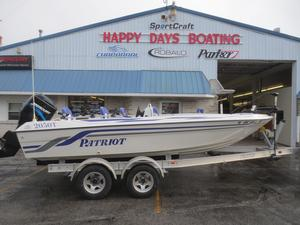 Used Patriot 2050 T2050 T Freshwater Fishing Boat For Sale