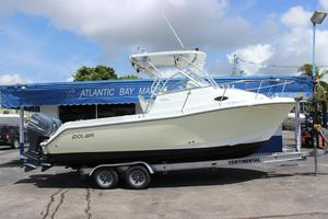Used Polar 2300 Walkaround2300 Walkaround Saltwater Fishing Boat For Sale