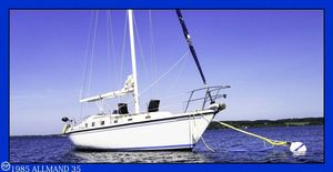 Used Allmand 35 Sloop Sailboat For Sale