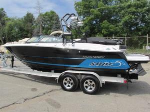 Used Monterey 238 Super Sport238 Super Sport Bowrider Boat For Sale