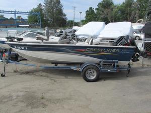 Used Crestliner 1650 SC1650 SC Freshwater Fishing Boat For Sale