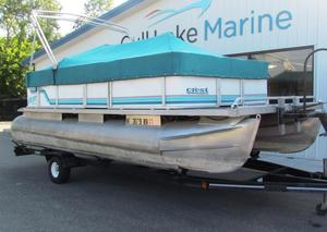 Used Crest SportSport Pontoon Boat For Sale