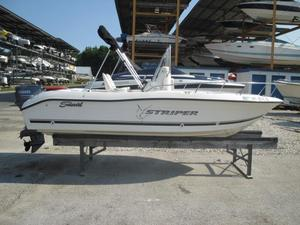 Used Seaswirl Striper 1851 CC Center Console Fishing Boat For Sale