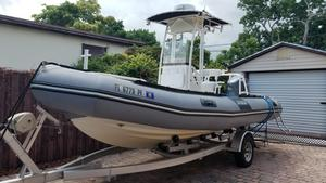 Used Zodiac Pro 650 Commercial Boat For Sale