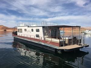 Used Kayot Steel Pontoon HouseboatSteel Pontoon Houseboat House Boat For Sale