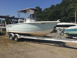 Used Sea Pro 206cc Center Console Fishing Boat For Sale