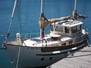 Used Fisher 30 Pilothouse Ketch Cruiser Sailboat For Sale