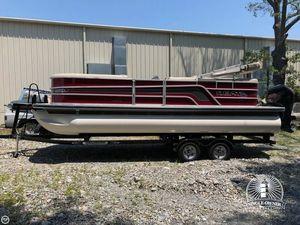 Used Ranger Boats Reata 220 Cruiser Pontoon Boat For Sale