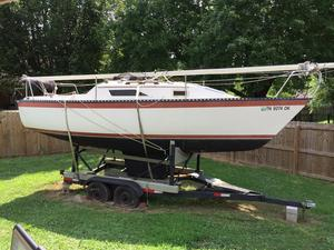 Used Hunter 22 Racer and Cruiser Sailboat For Sale
