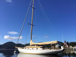 Used Classic John Alden Cutter Sloop Cutter Sailboat For Sale
