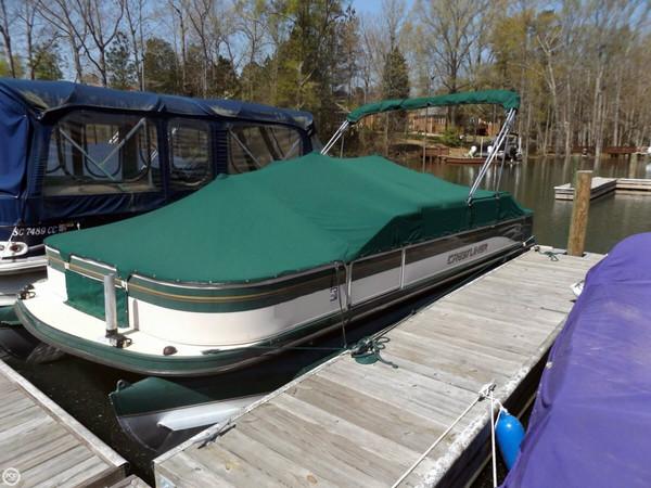 Used Crestliner 2285 CFI Pontoon Boat For Sale