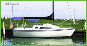 Used Precision 27 Sloop Sailboat For Sale