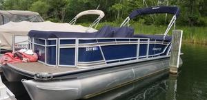 Used Godfrey 2500 FE2500 FE Pontoon Boat For Sale