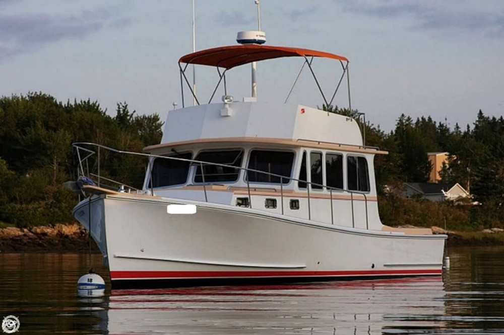 Used Calvin Beal 36 Downeast Fishing Boat For Sale