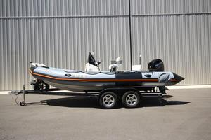 Used Zodiac Pro Open 650 NEO Rigid Sports Inflatable Boat For Sale
