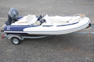 Used Zodiac Yachtline 2 Deluxe 420 Tender Boat For Sale