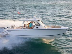 New Pursuit S 328 Center Console Fishing Boat For Sale