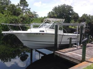 Used Trophy 2509 Walkaround Cuddy Cabin Boat For Sale