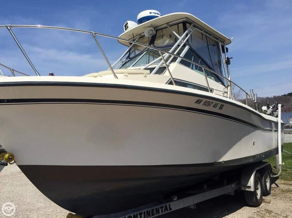1992 used grady white 255 sailfish walkaround fishing boat for Grady white fishing boats