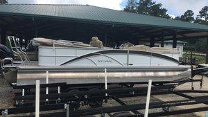 Used Sylvan 8535lz8535lz Pontoon Boat For Sale