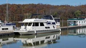 Used Gibson 50 Cabin Yacht House Boat For Sale