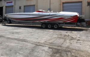 Used Cigarette 46 Rough Rider High Performance Boat For Sale