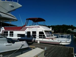 Used Gibson 47 Sport Series House Boat For Sale