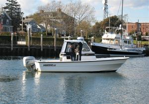 Used Maritime Skiff 23 Patriot Center Console Fishing Boat For Sale
