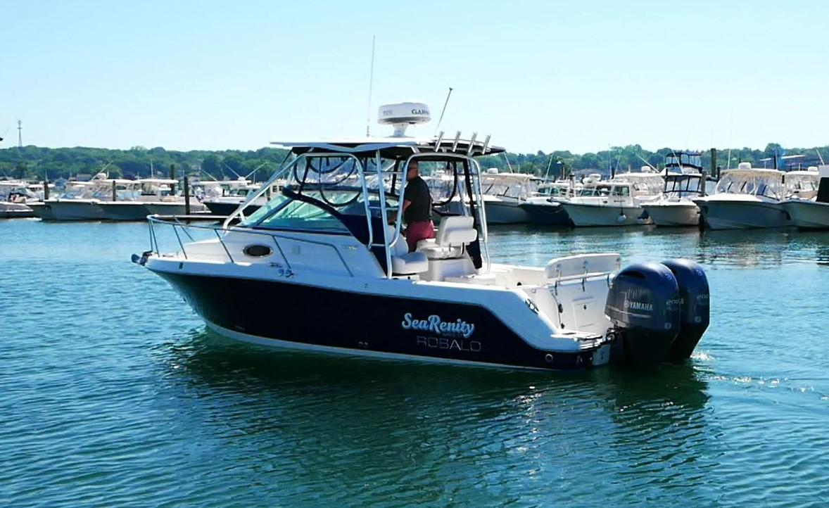 2016 Used Robalo 265 Cuddy Cabin Express Cruiser Boat For