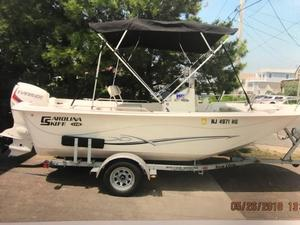 Used Carolina Skiff 178 DLV Center Console Fishing Boat For Sale