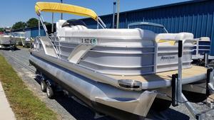 Used Aqua Patio 240 OB Elite Pontoon Boat For Sale